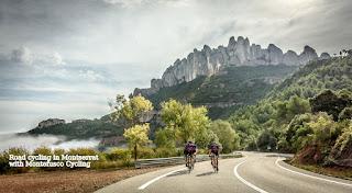 Road cycling Montserrat Barcelona
