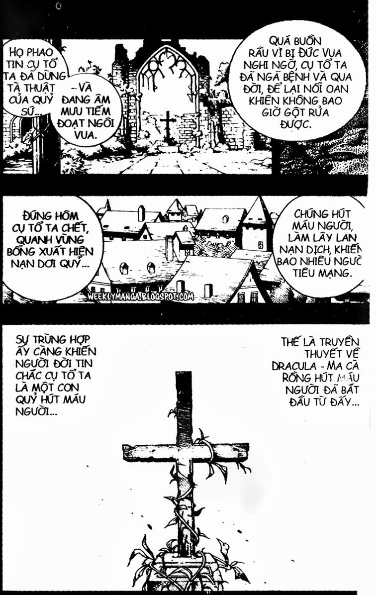 Shaman King [Vua pháp thuật] chap 99 trang 10