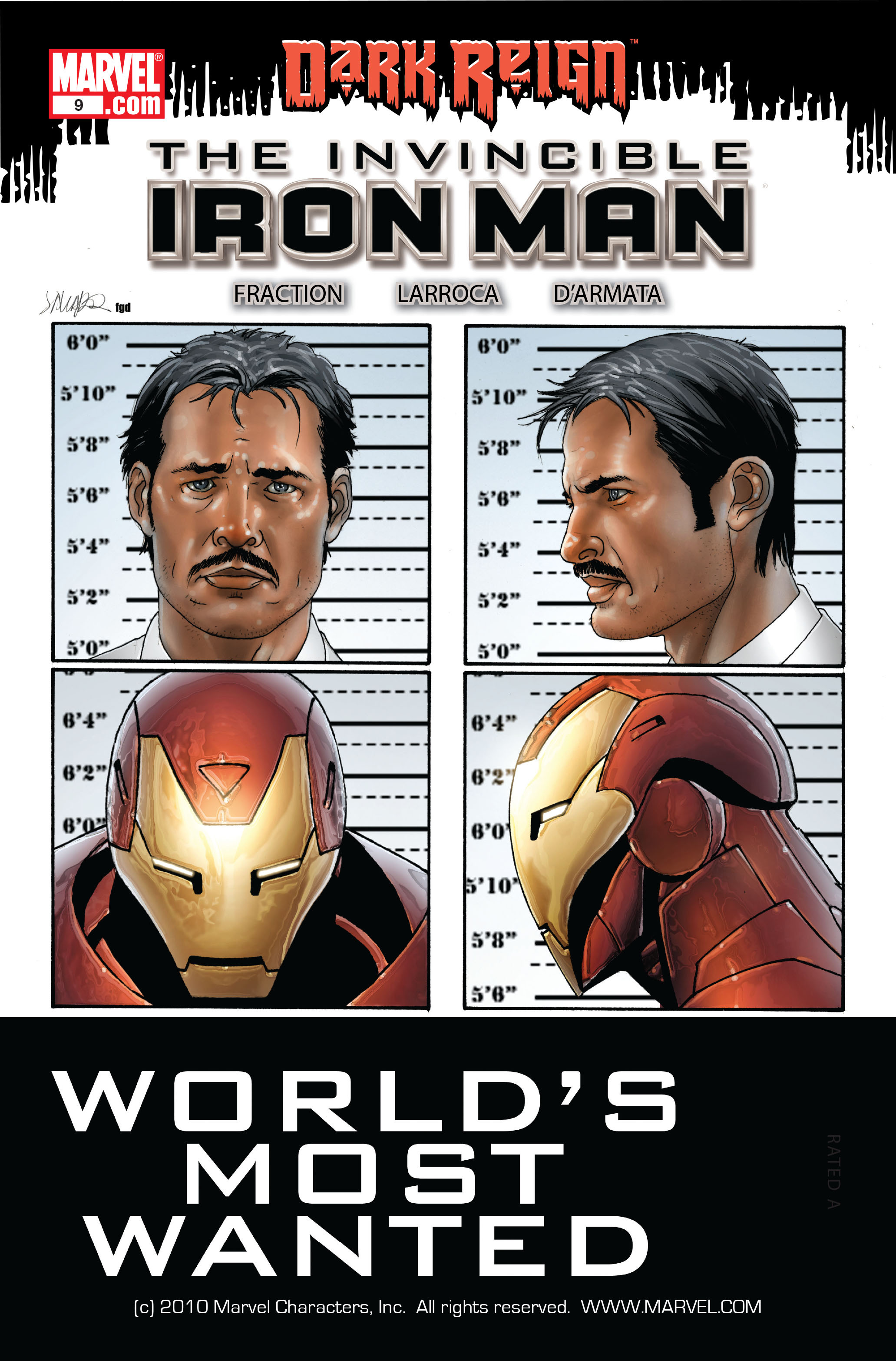 Invincible Iron Man (2008) 9 Page 1