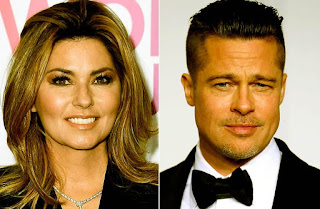 Shania Twain: Naked Images of Brad Pitt inspired me to write a song - that does not Impress Me Much