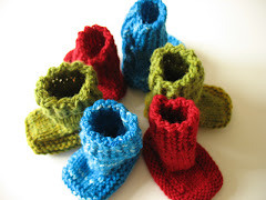 Ballee Baby Booties - Knitting Pattern
