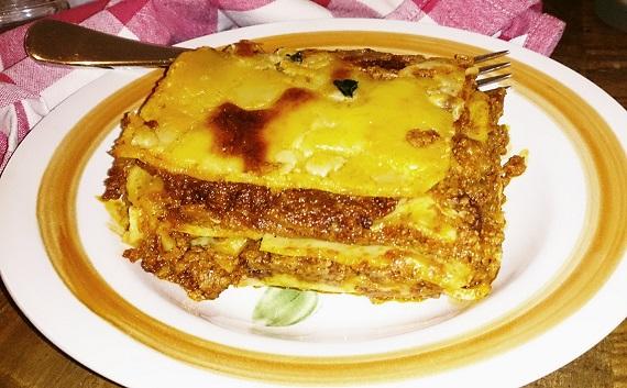 Thresherman's Bakehouse, Carlton, lasagna