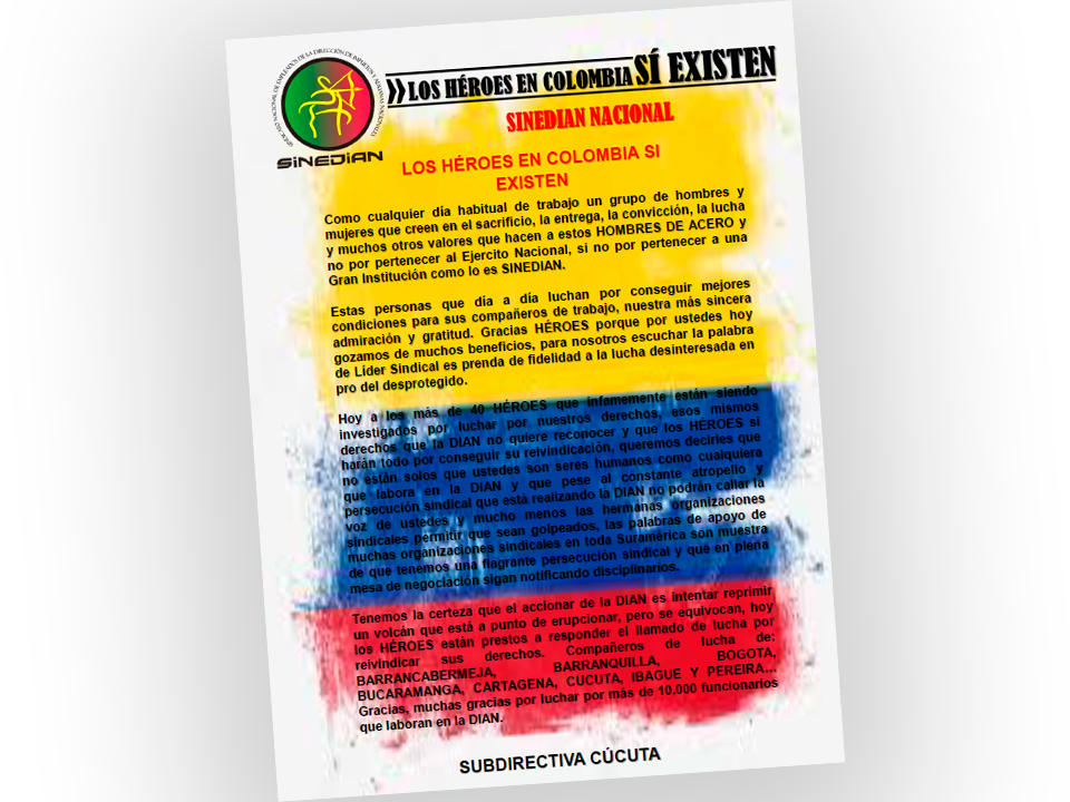 Los héroes en Colombia sí existen
