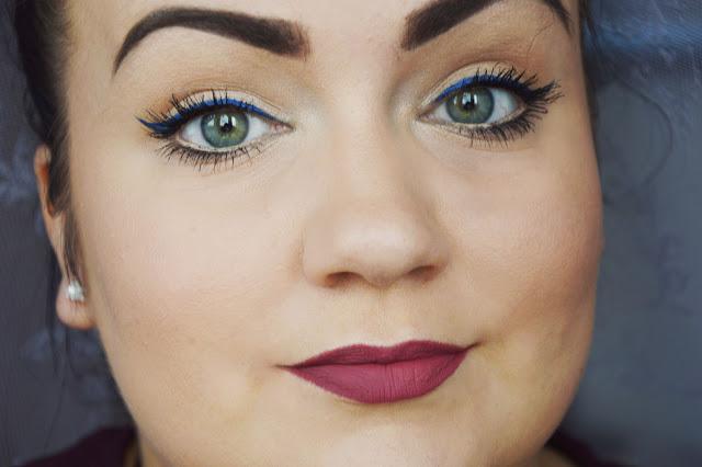 perfekcyjne brwi , pomada inglot , kolorowa kreska eyelinerem