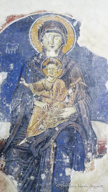 Virgen con el Niño, Iglesia de Santa Sofía, Ohrid - Macedonia por El Guisante Verde Project