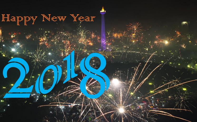 Kartu Ucapatan Selamat Tahun Baru 2018