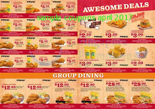 free Mcdonalds coupons for april 2017