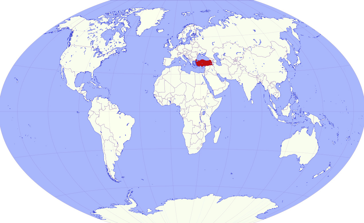 Dünya Ve Dünya Haritası üzerinde Türkiyenin Konumu Ve Yeri Laf Sözlük