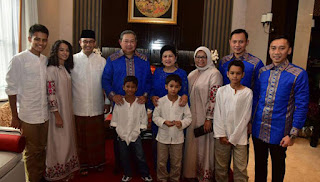 Silaturahmi ke SBY, Anies Cerita SBY Mendukungnya 100 Persen