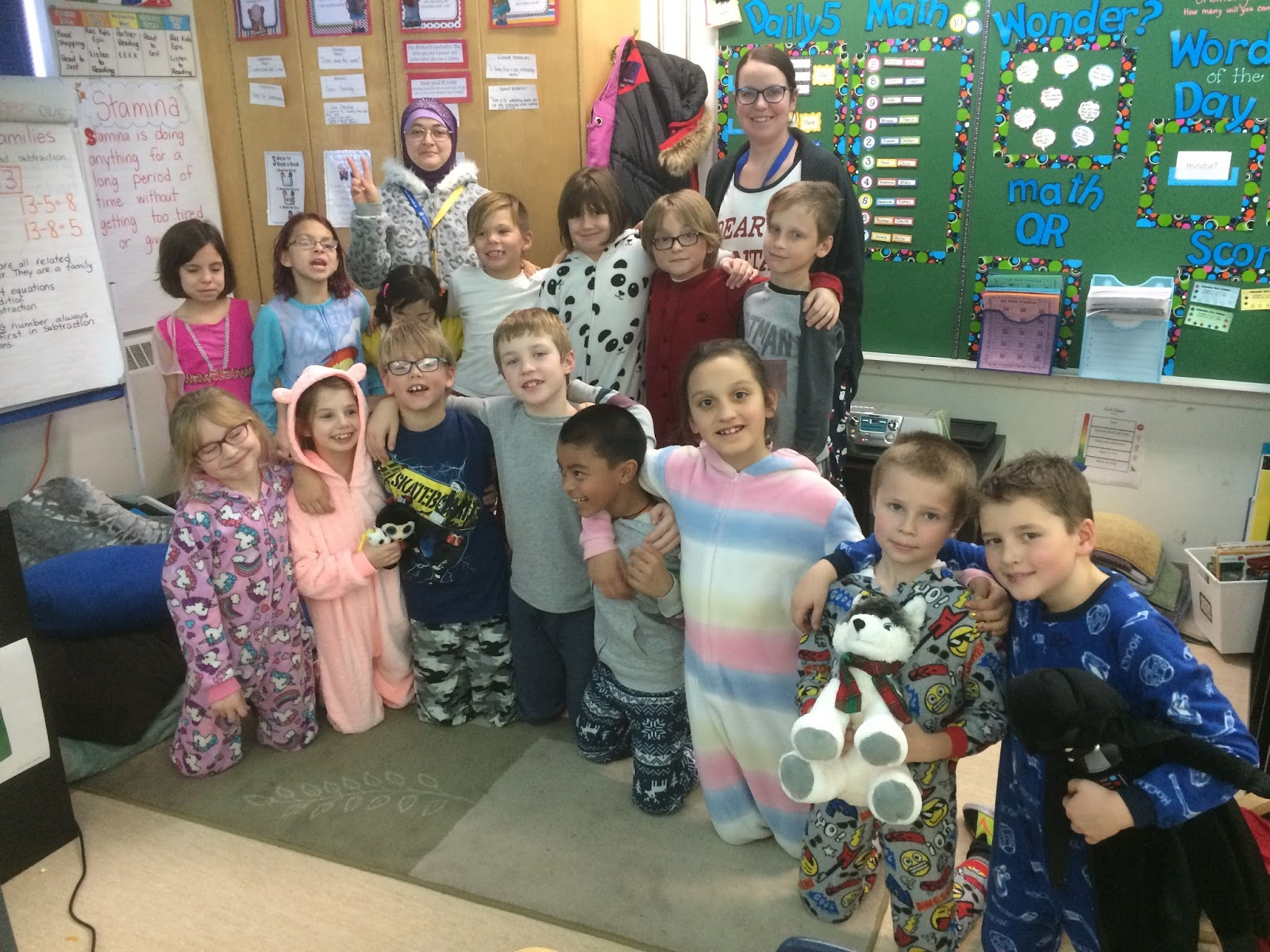 Mrs Squire S Grade 3 Class 3s Last Day For Pj Day