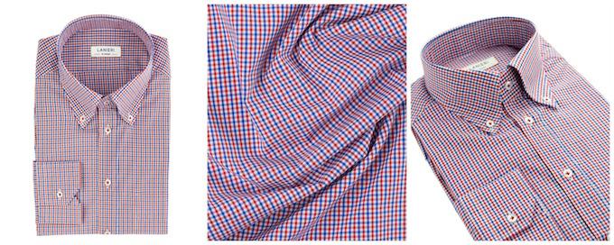 Camicia della Fortuna puro cotone 100/% prodotto Artigianale e Sartoriale