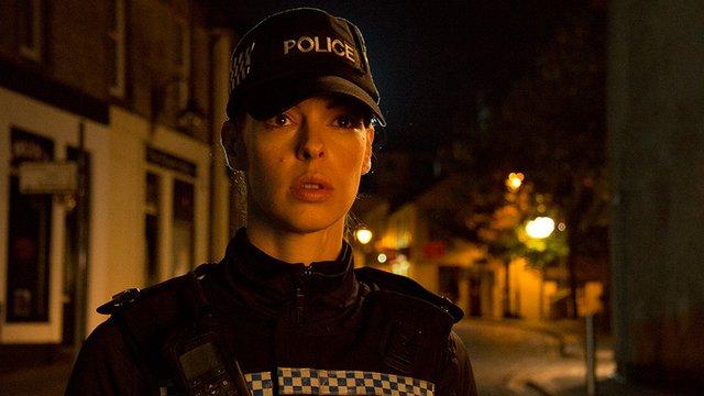 'PC Rachel Heggie' Rolünde Bulunan Pollynna McIntosh.