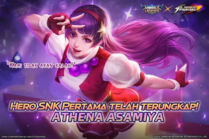 Athena Asamiya King Of Fighters Akan Muncul Di Mobile Legends.
