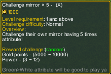 Dream One Piece Challenge Mirror 5X detail