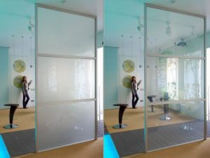Electric Privacy Glass Screen