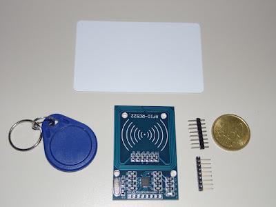 Fig. 1 - Ricevitore e 2 RFID - Foto di Paolo Luongo