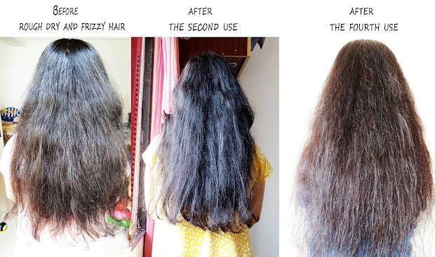 mama earth argan hair