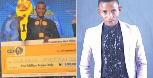 MTN Project Fame Winner, Olawale Becomes Cab Driver In Lagos