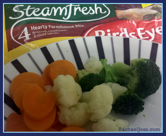 Review: Birds Eye SteamFresh and Getting in the Veg