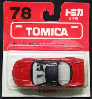Tomica - 19 Honda NSX 日本製, 吸塑包裝