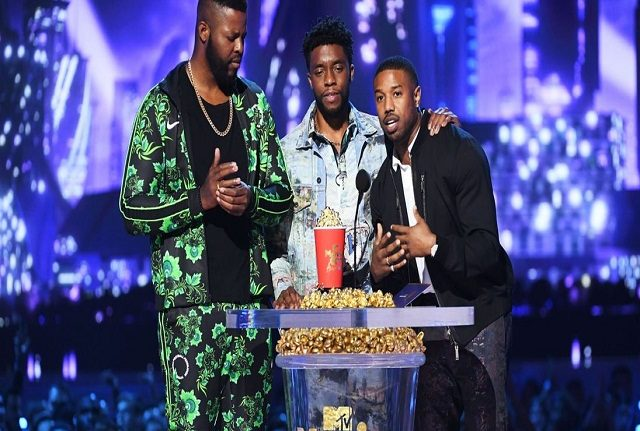 Black Panther, Stranger Win Big At 2018 MTV Movie And TV Awards (See Full List Of Winners)