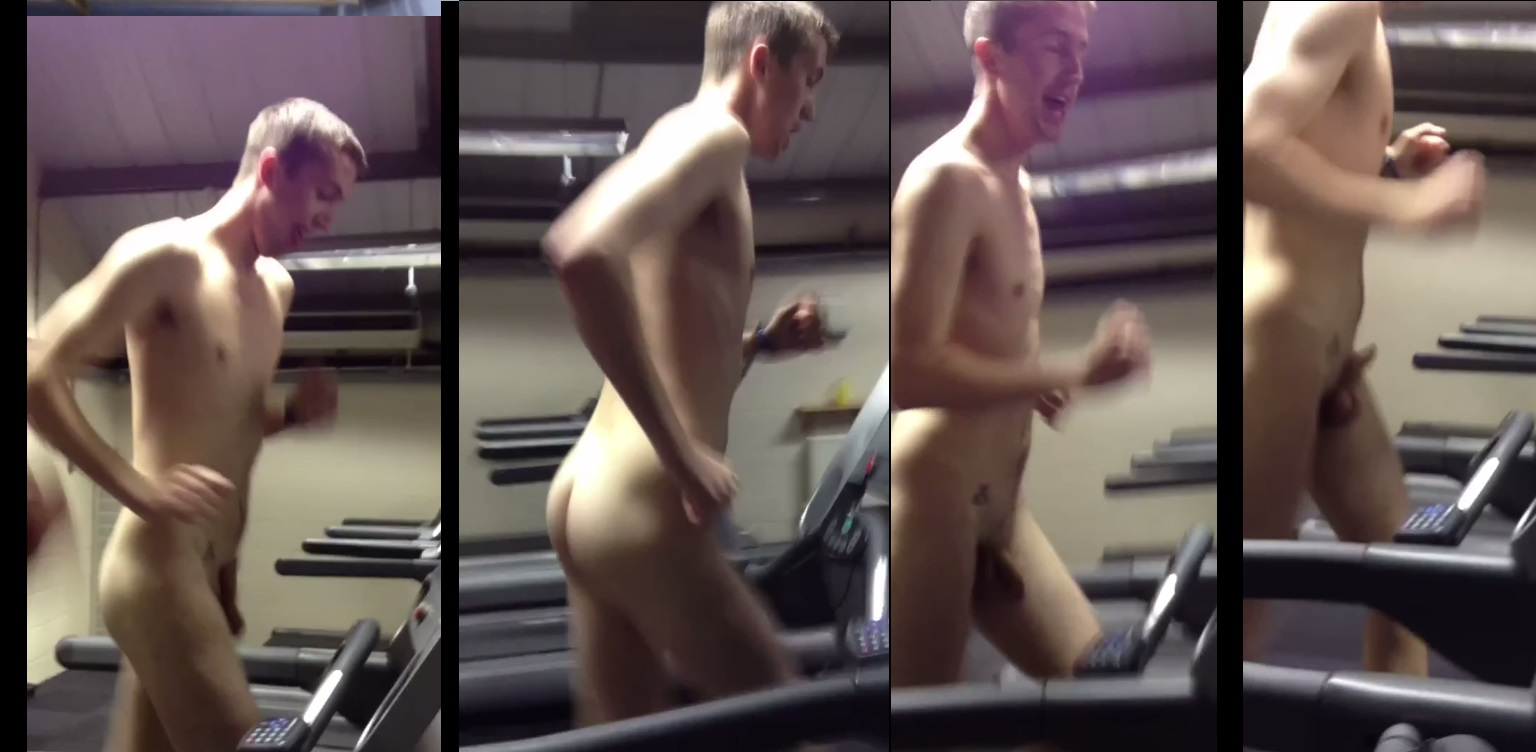 naked guys working out