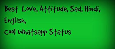 100 Best Cool Love Attitude 2 Lines Whatsapp Status
