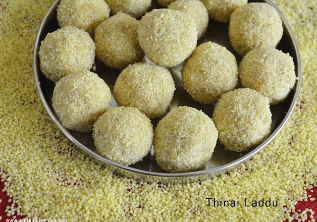 Thinai Laddu