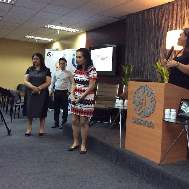 Also present in the intimate gathering are Ms. Lizbeth Jose (USANA General Manager), Ms. Sheila Rada of Dominguez Marketing