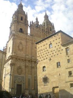 Salamanca casa de las conchas