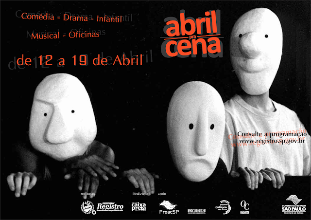 Festival de Teatro Abril pra Cena terá grandes espetáculos na próxima semana
