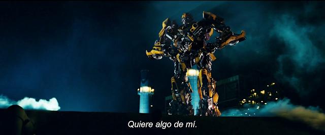 Transformers 1 2007 UHD 4K Español Latino Inglés cap 1