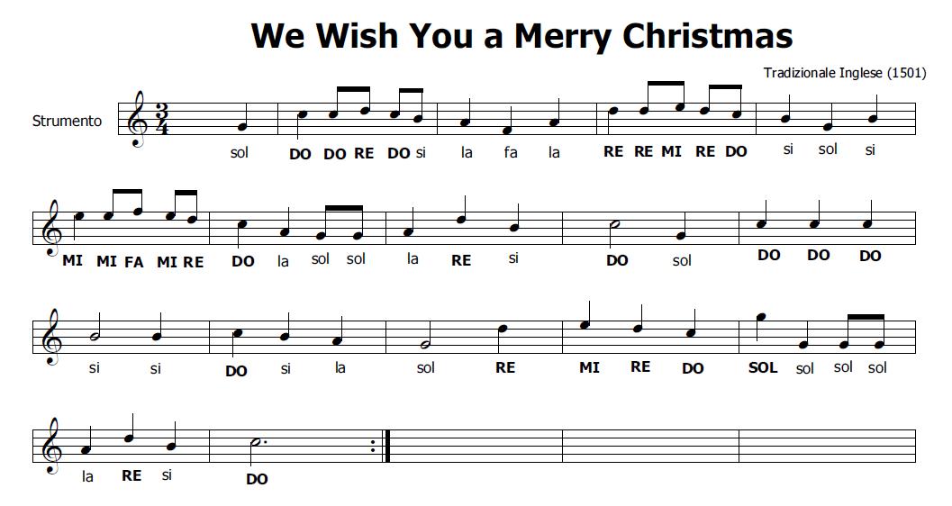 Favorito Musica e spartiti gratis per flauto dolce: Musica di Natale per  EE88