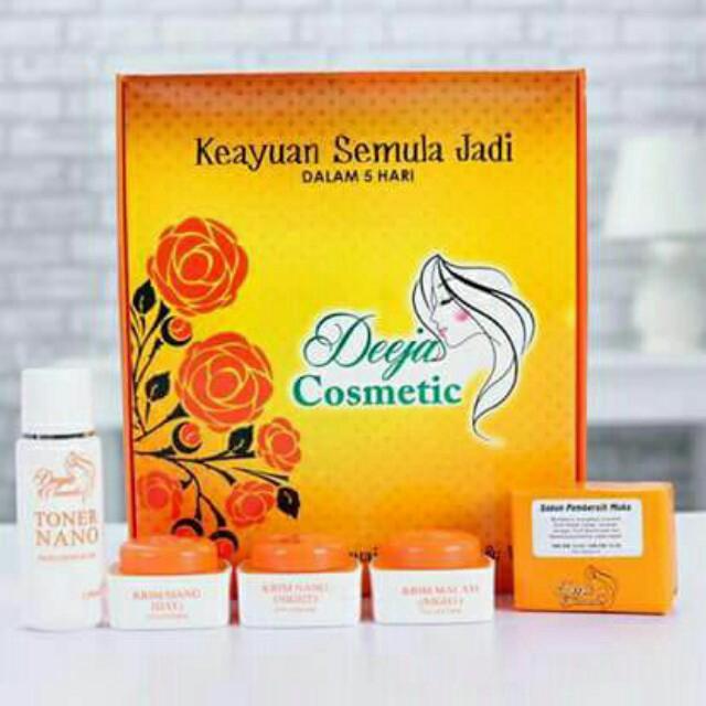 deeja cosmetic sesuai untuk lelaki dan wanita