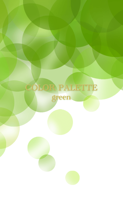 Color Palette green *