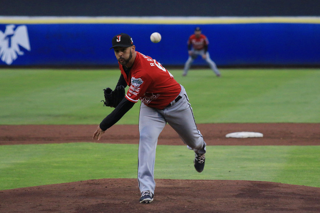a7666dcf69be4 Horacio Ramirez turned in his third consecutive sterling playoff start for  Tijuana on Friday night