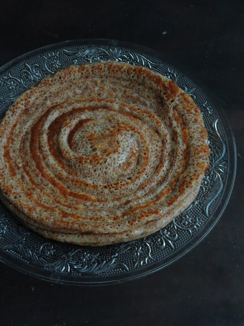Multigrain Indian Crepes, Multigrain Dosas