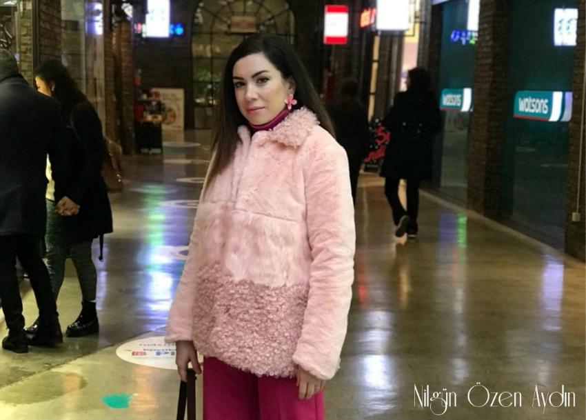 Pembe Kürk Kaban-moda blogları-fashion blogs-Shein