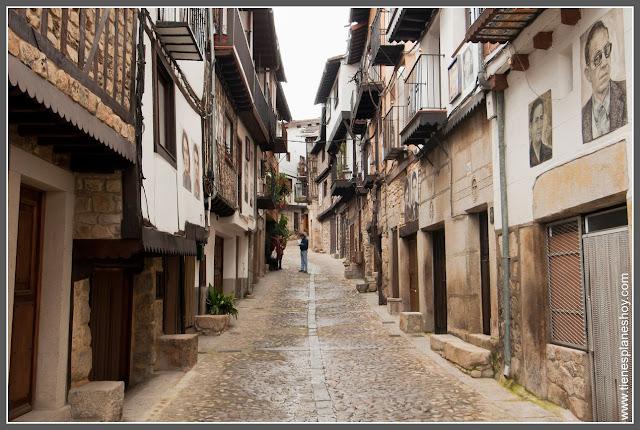 Calles Mogarraz Salamanca