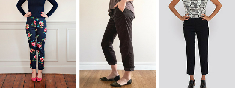 the #wardrobebuilder project - Trousers