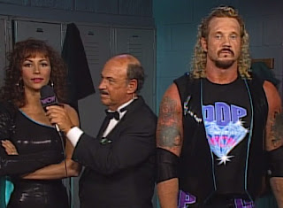 WCW Spring Stampede 1997 - Gene interviews Kimberly and Diamond Dallas Page