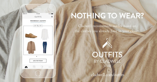 Need daily outfit ideas? Check out Cladwell nifty iOS app!