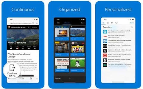 Microsoft Edge implementa búsquedas visual en dispositivos con iOS