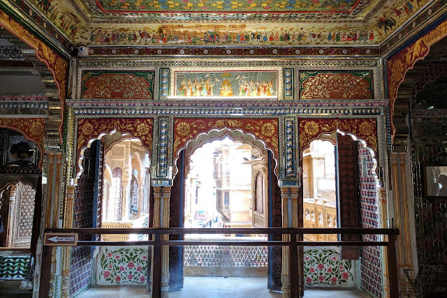 Mohini Vilas and its graceful mirror works
