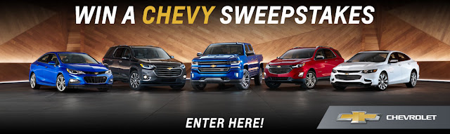 WIN A CHEVY SWEEPSTAKES