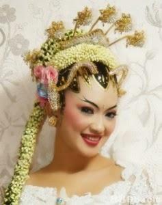 bunga rias pengantin
