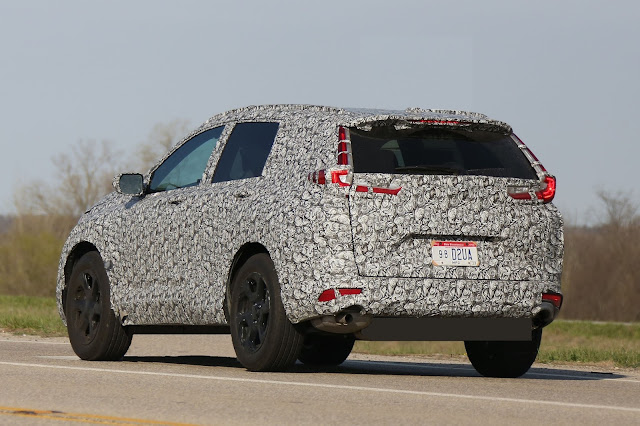 2018 Honda CR-V Spied
