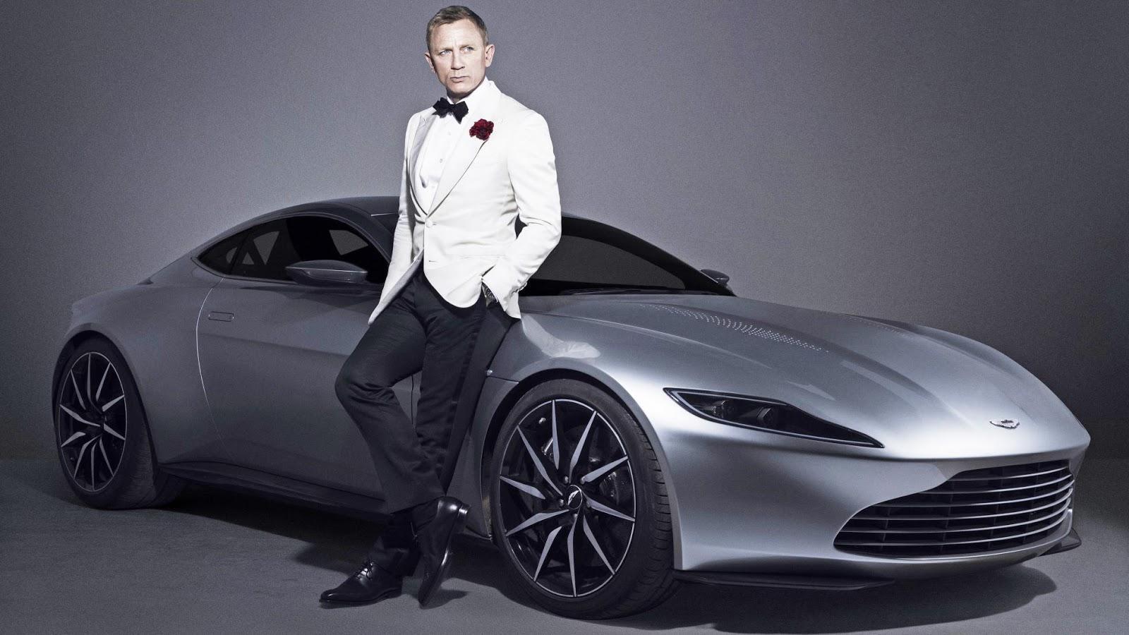 James Bond Daniel Craig sẽ chứng nhận và trao tay chiếc xe này cho người đấu giá thành công