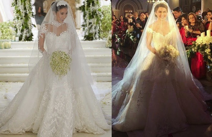 Heart Evangelista or Marian Rivera: Better Wedding Gown ...
