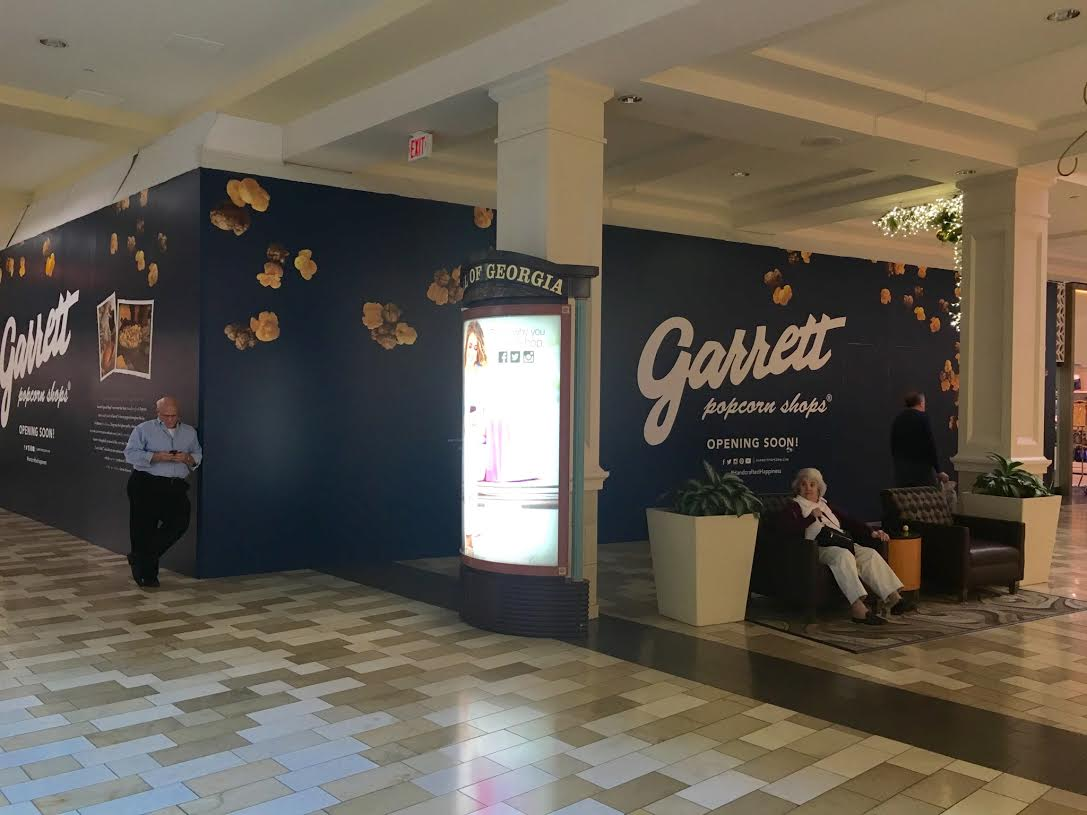 f9764372754f4 Coming Soon signs surrounded Garrett Popcorn in 2015 at Mall of Georgia
